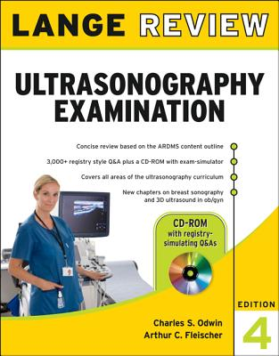Lange Review Ultrasonography Examination By Odwin, Charles/ Fleischer, Arthur